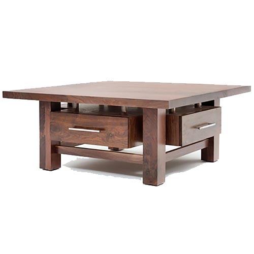 Contemporary Classic Coffee Table With Four Drawers Rustic Log Reclaimed Industrial