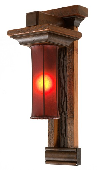 Refined Rustic Lamp 6 Rustic Log Reclaimed Industrial Contemporary Furniture