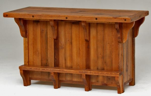 Refined Rustic Bar 2 Rustic Log Reclaimed Industrial Contemporary Furniture