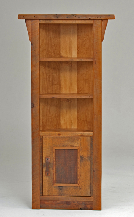 Refined Rustic Cabinet 3 Rustic Log Reclaimed Industrial Contemporary Furniture