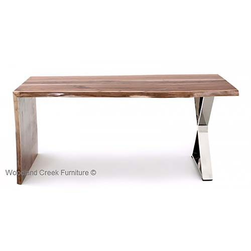 Black Walnut Wood Desk OF07335