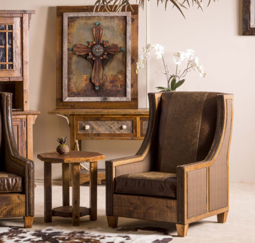 Barnwood Accented Upholstery