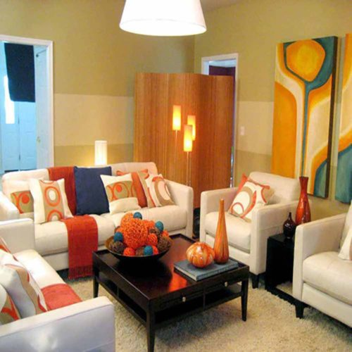 Touch Of Color Collection Living Room