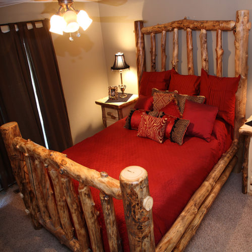 Light Aspen Pure Country Bed